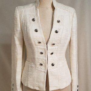 White House Black Market Lace Blazer
